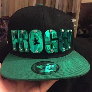 "BNHA inspired ""Froppy"" hat"